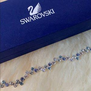 Swarovski Jewelry - Swarovski fidelity bracelet (blue/white)